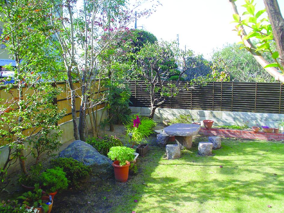 画像:仁の郷の庭