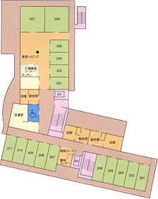 画像:ビオスの丘二階見取り図
