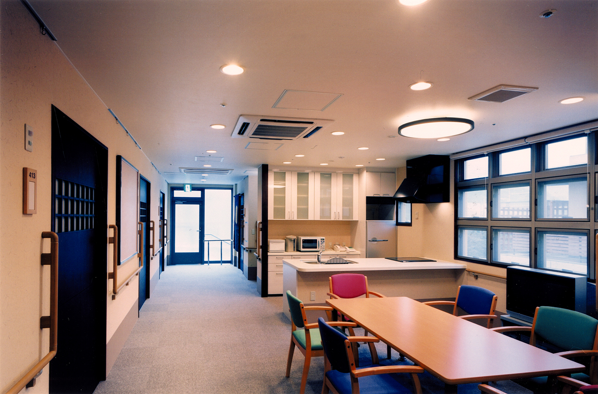 画像:四階 共同生活室